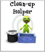 Clean up helper classroom job