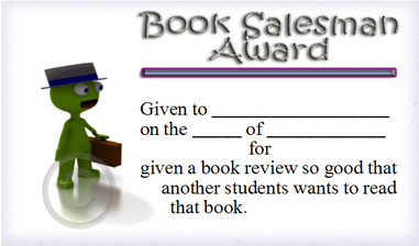 Book Salesman Award