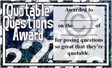 Questioning Reading Skill Award