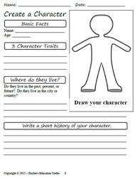 character analysis book