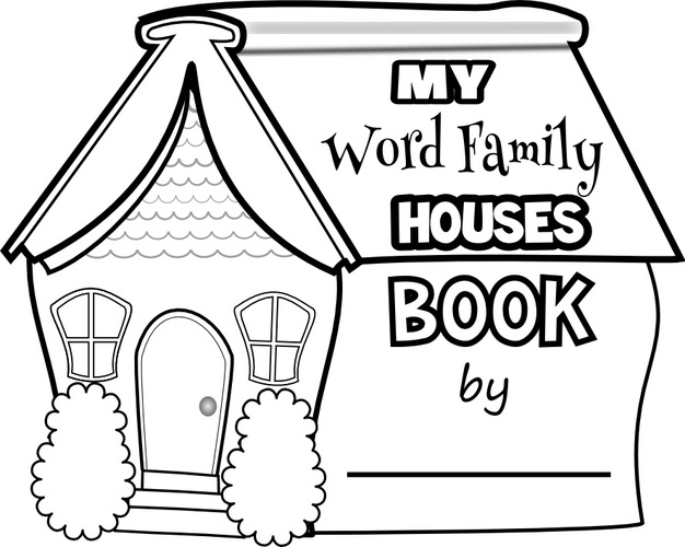 Word Family Houses Cover