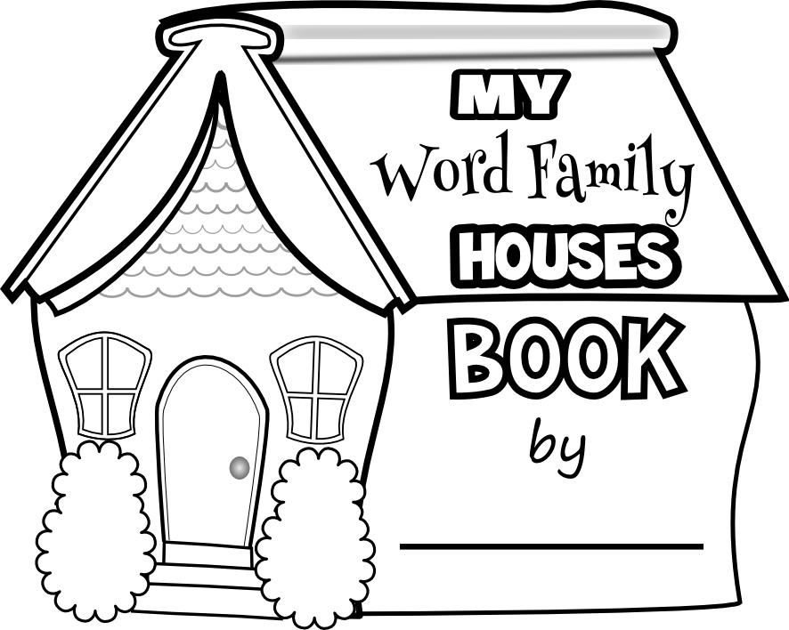 My word family houses book