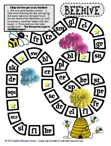 Consonant Cluster Game