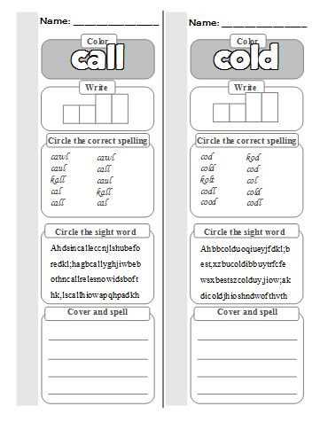 Worksheets Second Grade Sight Word Worksheets dolch second grade sight word worksheets kaylees education studio 2nd worksheet call and cold worksheet