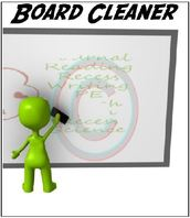 Board Cleaner Classroom job