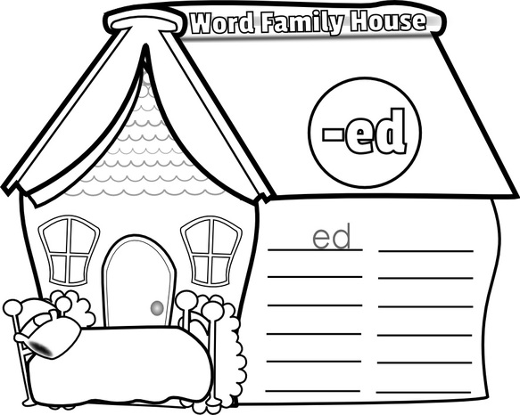 ed word family house