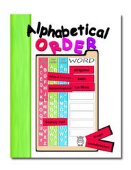 Alphabetical Order File Folder Game