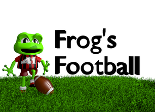Frog Football File-folder game
